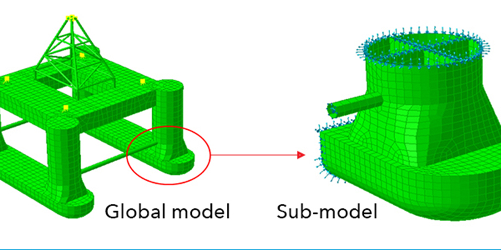 Sesam GeniE - Submod software module for sub-modelling