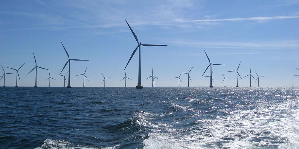 Offshore wind turbine foundation and analysis with Sesam software for offshore wind